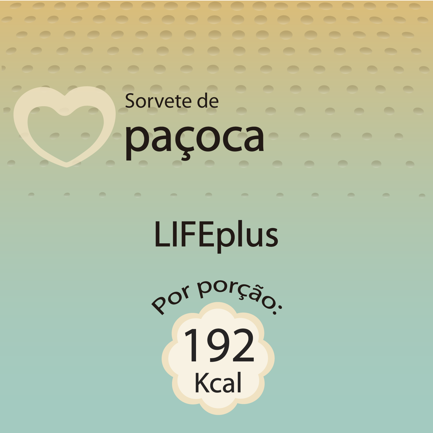 120ml paçoca lifeplus